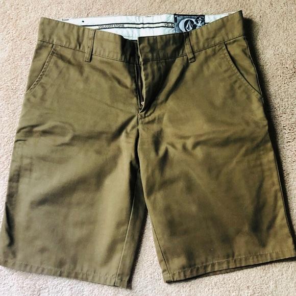 Volcom Pants - Brown Bermuda Shorts